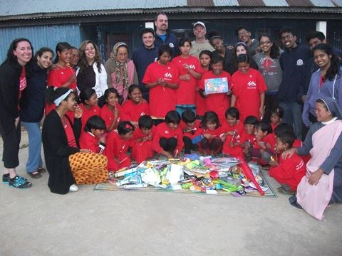 Campion students complete social justice mission in India