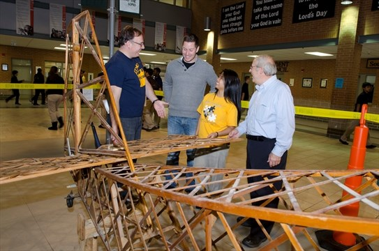 High school aviation course takes off